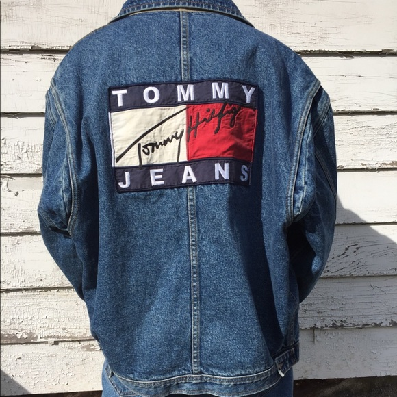 Tommy Hilfiger Jackets Coats Vintage Denim Jacket Poshmark