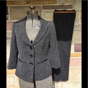 The Limited tweed pant suit.