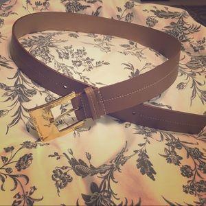 Micheal Kors Tan Belt Size: Medium