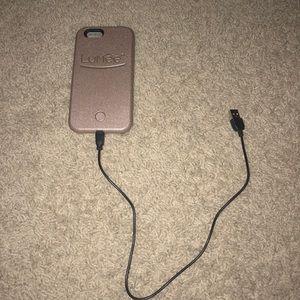 Accessories - Lumee light up selfie case for iPhone 6s