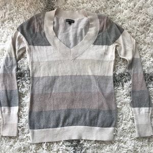 Multistripe size medium Express sweater