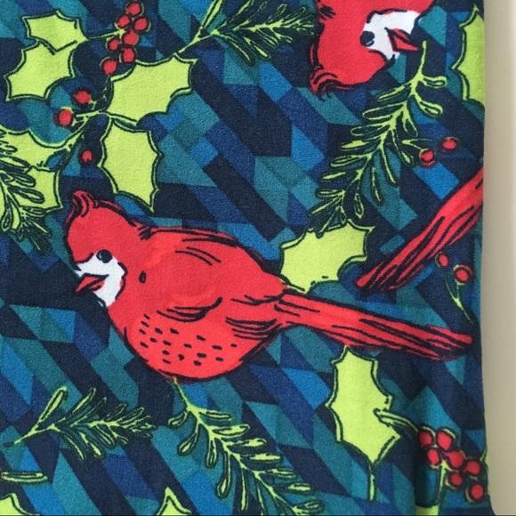Christmas Cardinals Images.In Lularoe Christmas Cardinals Nwt Leggings Tc2