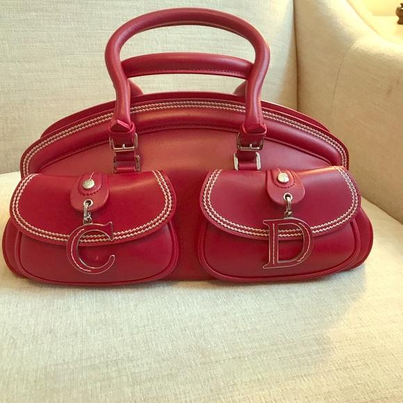 3631e5e6e25 Christian Dior Bags   Red Bag   Poshmark