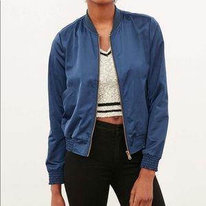 Blue silence + noice UO bomber jacket