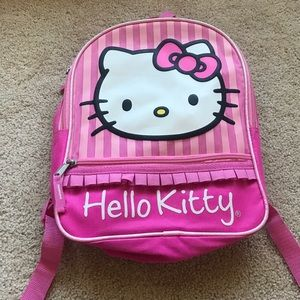 Pink Hello Kitty backpack