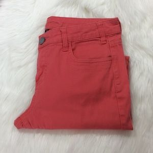 Kut From The Kloth Salmon Color Skinny Jeans