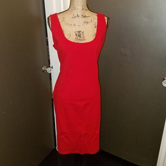 Stretch Cotton Tank Dress