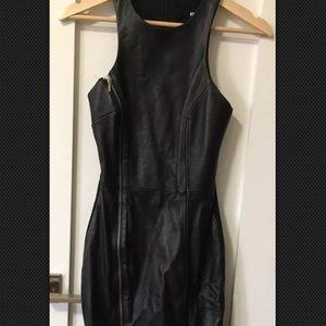 NICHOLAS 100% Leather Size 2 Dress