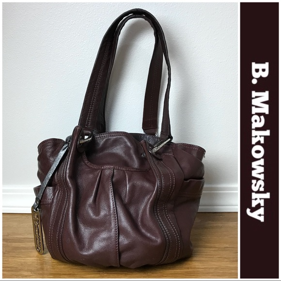 20ff0e82f86 b. makowsky Handbags - B. Makowsky Brown Carmen Tote from Nordstrom