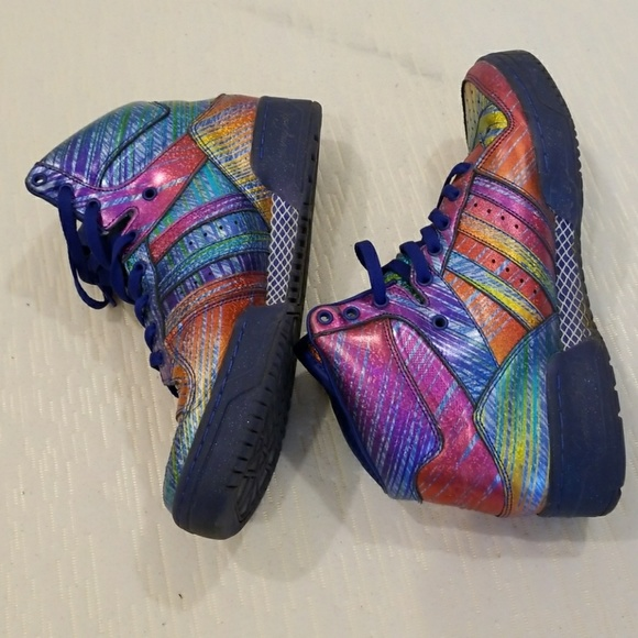 a522e8be86eb adidas Other - Adidas Jeremy Scott Wings Rainbow Hologram