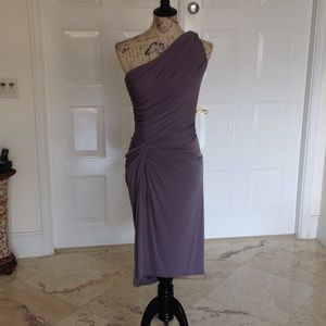 Maggy London Grey Dress