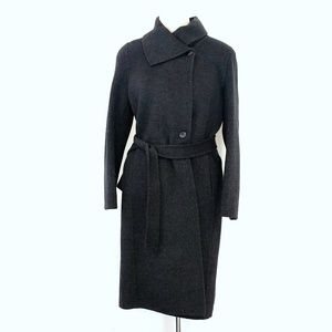 Talbots Dark Grey Womens Coat size 4