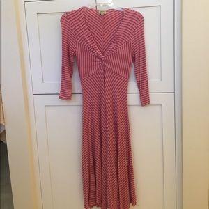 Beautiful Ella Moss  Striped Dress