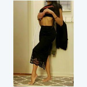 🖤 ASOS Sexy Lace Pencil Skirt 🖤
