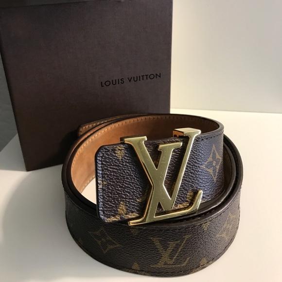 5401eef00 Louis Vuitton Accessories   Sold Mens Monogram Belt   Poshmark