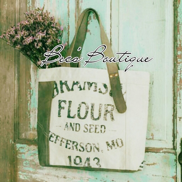 Boutique Bags Reduced Flour Sack Tote Poshmark