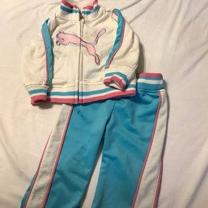 Puma Matching Sets - Infant Puma Track Suit