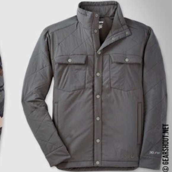 df4d00851e8 kuiu Jackets   Blazers - KUIU insulated snap shirt hunting light jacket