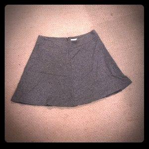 Ann Taylor Loft Sz 14 a-line wool mini skirt