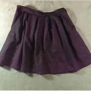 Charlotte Russe black polyester size large mini