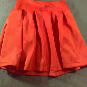 🍊 red Charlotte Russe polyester mini 🍊