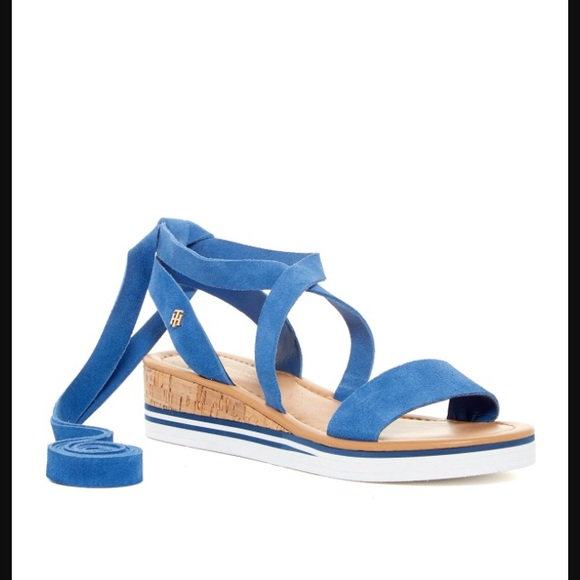 Sandales Moulantes - Tommy Bleu Hilfiger iygbCQQoX