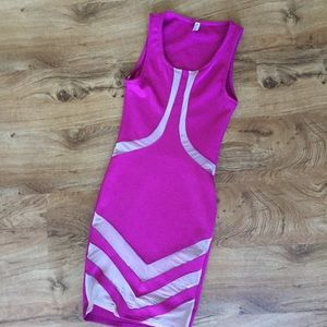 Auditions bodycon mesh dress
