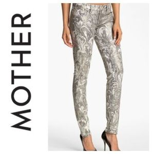 💸Mother The Looker Glitz n Glam skinny pant