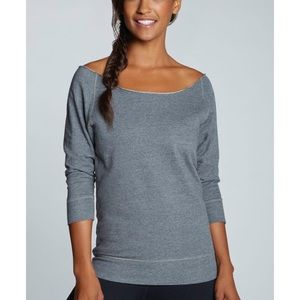 Fabletics Tempe Off The Shoulder Sweatshirt