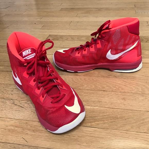 Nike Shoes   Nike Air Red Basketball