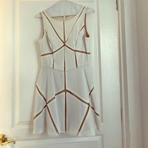 Aidan Mattox white dress