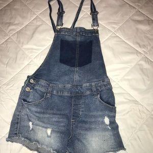 Cute overalls size medium