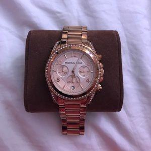 Rose Gold Blair watch