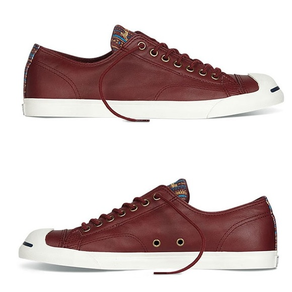 a00101f8ab3 Converse jack Purcell shoes leather