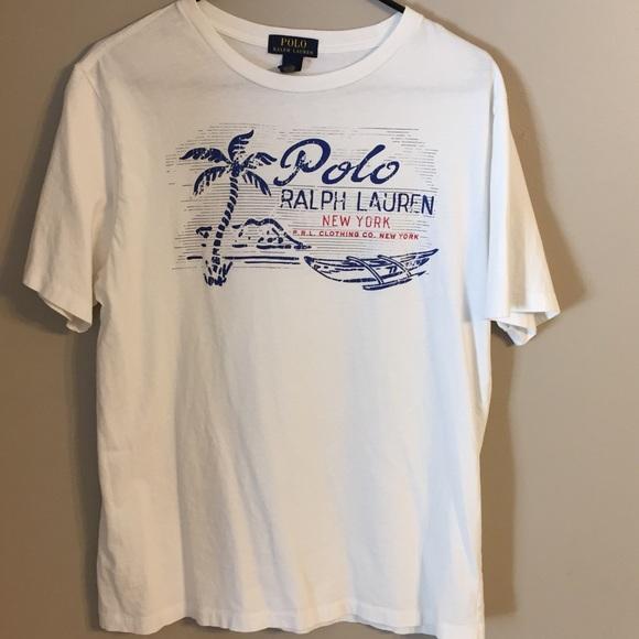 d31b3031 Polo by Ralph Lauren Shirts | Mens Polo Ralph Lauren Graphic Tee ...