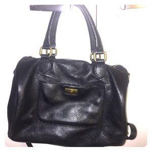 Large JCrew Brompton Bag, Black