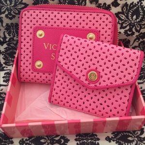 Victoria secret compact wallet