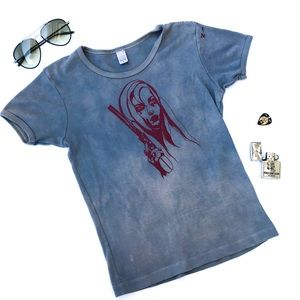 One of a Kind- Hand-Painted by FTQ Graphic T Small