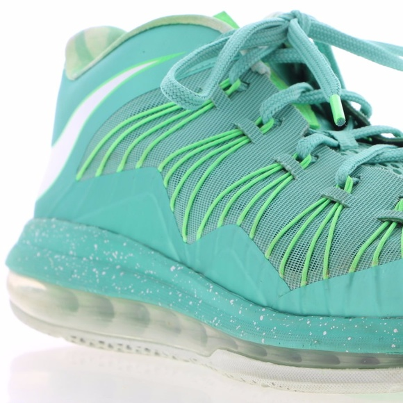 premium selection a18c6 253c8 ... FINAL ⬇ NIKE Air Max Lebron X 10 Low Mint Green ...