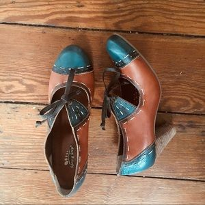 Funky and Fun Springstep pumps - worn once only!