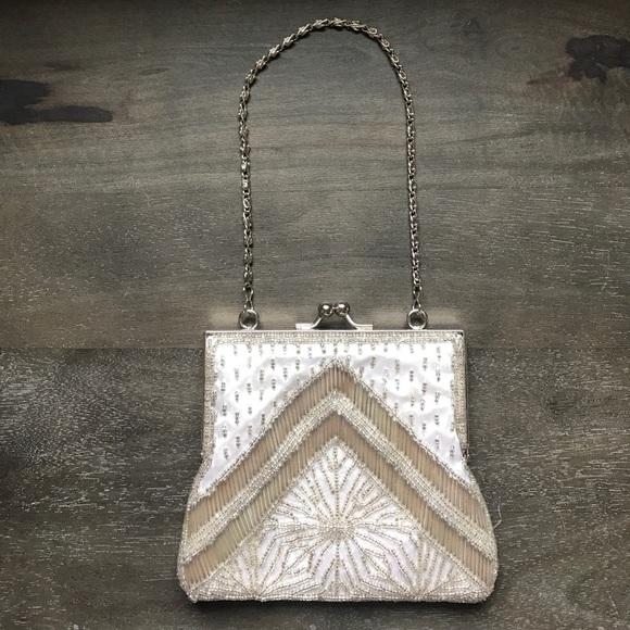 Gunne Sax Handbags - Vintage Silver Purse
