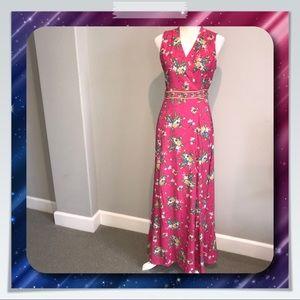 7ef67acb19557 New York   Company Dresses - New York   Company Floral Wrap Maxi Dress