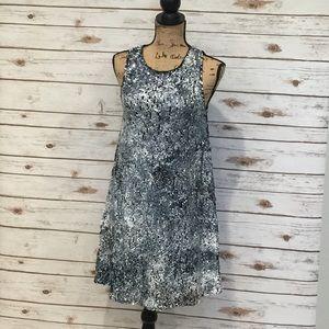 NWT Sam Edelman Mesh Back Sequin Shift Dress