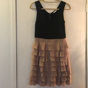 Alythea Pink Ruffle Dress