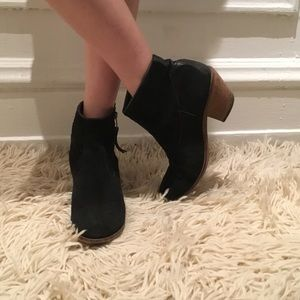 Gabriella Rocha Pazzy black suede ankle booties