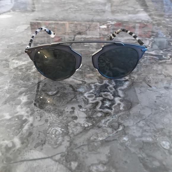 23f9f6e81cd8f Christian Dior Accessories - Like new Christian Dior So Real Reflective  Glasses