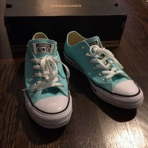 512dfc6c16e4 Converse Shoes - Converse Women s 8 Aruba Blue- New in box!