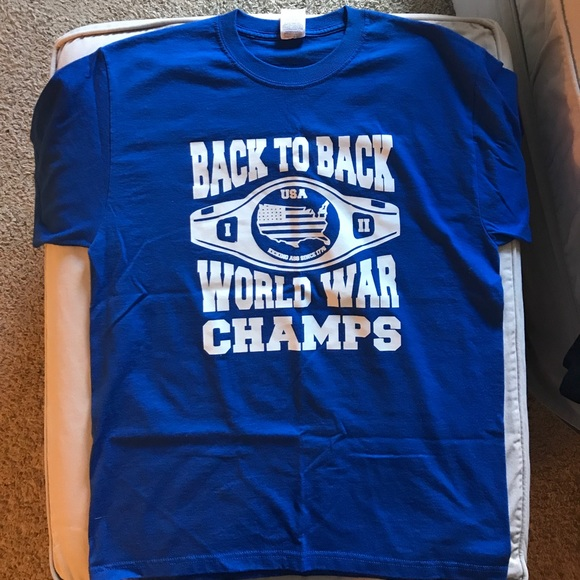 2ec8c0eea Shirts | Back To Back World War Champs T Shirt Like New | Poshmark