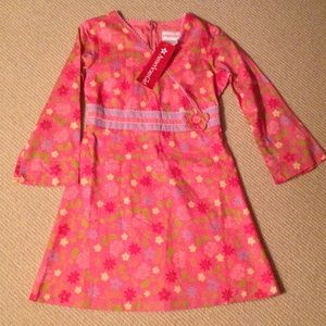 "NWT American Girl (""Charissa"") Floral Dress size 7"