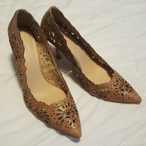Aerin Flamands Leather Heels